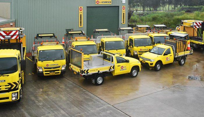 Fleet Stop Slow Traffic Control Vehicles Wollongong Illawarra NSW